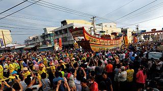 Tajvan: Égő Hajó Fesztivál