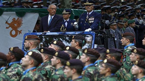 Centenário do Armistício assinalado com grande desfile militar em Lisboa
