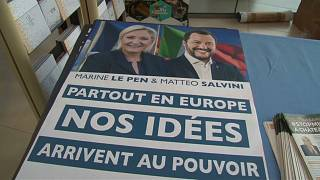 Umfrage zur Europawahl: Le Pen überholt Macron