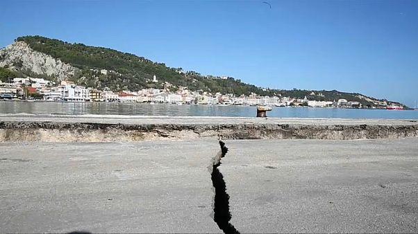 Újabb földrengés Zakinthosznál