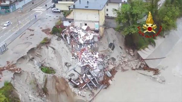 Schock in Italien über mindestens 30 Tote durch Unwetter