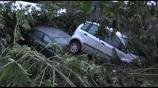 Una treintena de muertos en Italia por el temporal