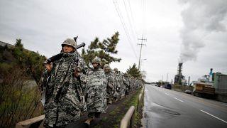ABD ve Güney Kore yeniden ortak askeri tatbikat düzenliyor