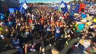 Kenyai és etióp győzelmek a New York-i maratonon