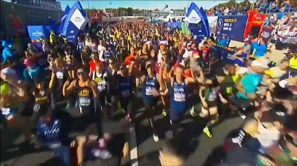 Marathon de New York : 50 000 coureurs à l'assaut de la grosse pomme