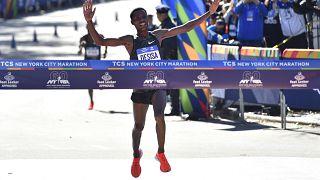 Lelisa Desisa vence maratona de Nova Iorque
