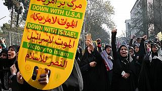 O inverno chegou mais cedo ao Irão