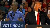 A poche ore dal voto del midterm il duello fra Obama e Trump