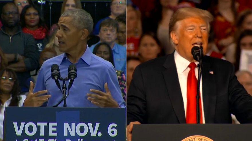 US-Zwischenwahlen: Trump und Obama schießen scharf