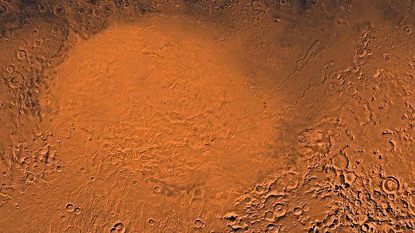 Η «Ελλάς» του Άρη είχε κάποτε πολυάριθμες αλλά εφήμερες λίμνες νερού