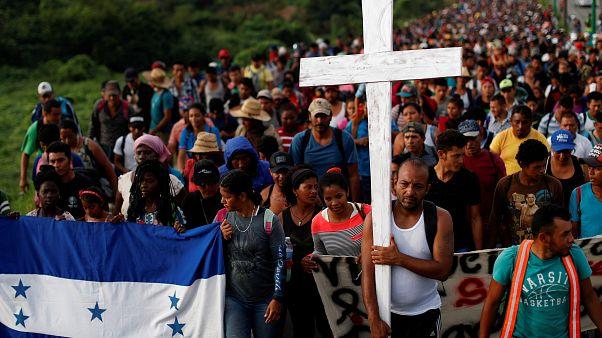 Migrantenkarawane erreicht Mexiko-Stadt