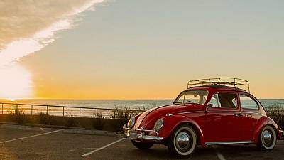 Classic cars with electric hearts