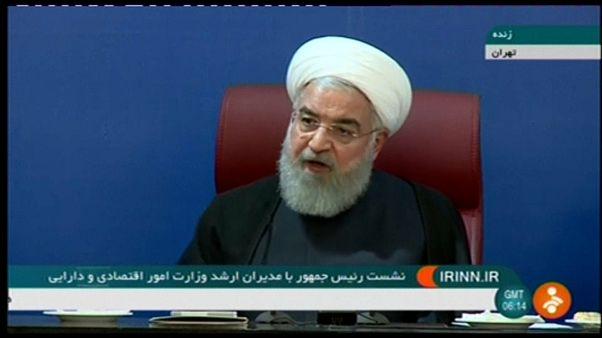 Presidente iraniano promete derrotar sanções dos EUA