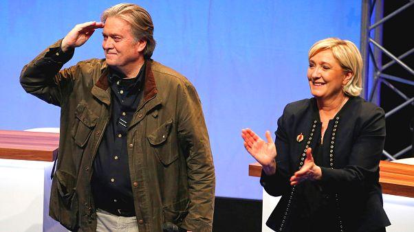 Fransız aşırı sağ partisi Avrupa Parlamentosu seçim anketinde önde gidiyor