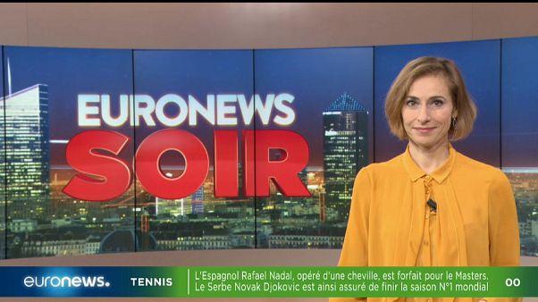 Euronews Soir : l'actualité de ce 5 novembre