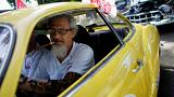 Гонки ретро-автомобилей в Гаване