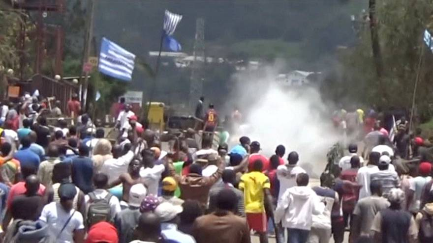 من مظاهرات في مدينة بامندا (صورة من الأرشيف - رويترز)