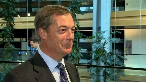 Nigel Faragel: Hay países que han logrado mejores acuerdos comerciales que los de la Unión Europea