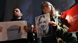 Ukrainische Aktivistin stirbt nach Säureanschlag