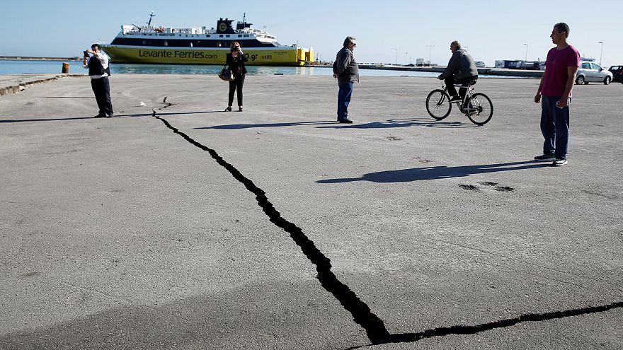 Ζάκυνθος: Προσωρινά ακατάλληλα 124 κτίρια