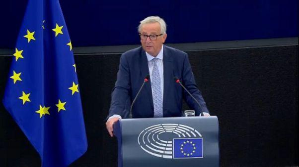 Discurso sobre o Estado da União de Jean-Claude Juncker: reações em Itália