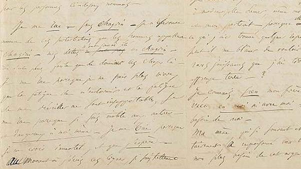 French poet Baudelaire suicide letter sold for 234,000 euros