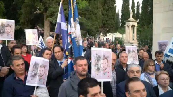Πορεία διαμαρτυρίας στην Αθήνα για τη Βόρεια Ήπειρο