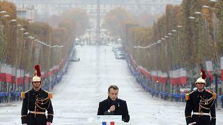 World leaders mark WWI Armistice centenary in Paris