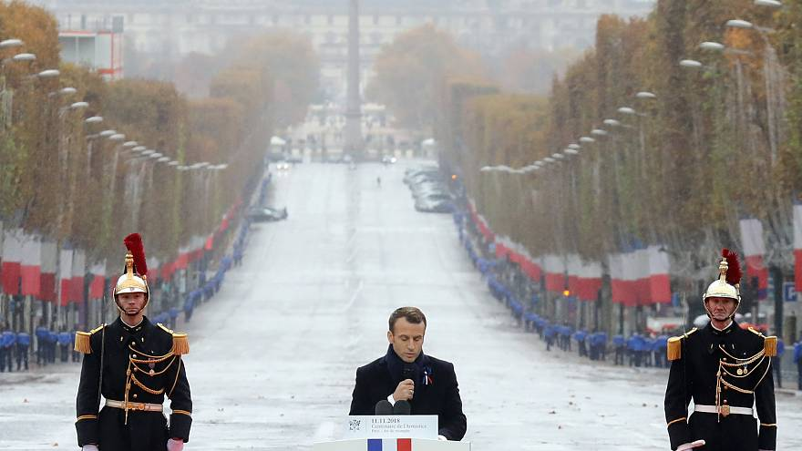 World leaders mark WWI Armistice centenary in Paris