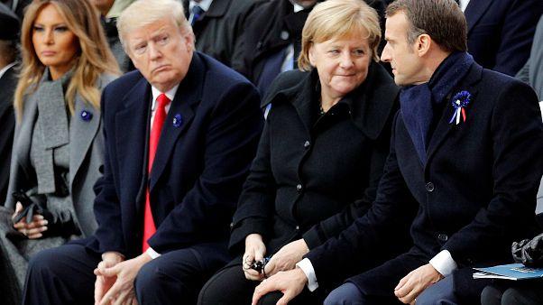 """Centenario armistizio, Macron: """"Patriottismo è contrario di nazionalismo"""""""