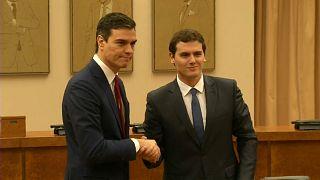 Un sondeo revela que es posible una coalición entre PSOE y Ciudadanos