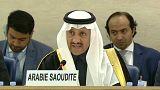 بندر العيبان رئيس الوفد السعودي