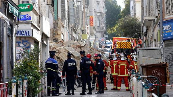 Μασσαλία: Κατάρρευση δύο κτιρίων