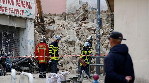 Marsilya'da çöken binada üç cansız bedene ulaşıldı
