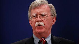 بولتون يقول أمريكا ستفرض المزيد من العقوبات على إيران