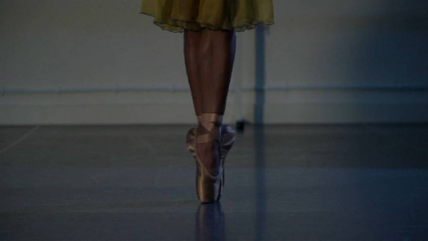 Ballet shoes are pointing to diversity
