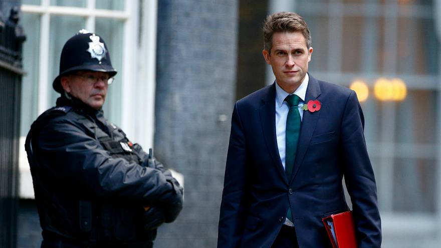 وزير الدفاع البريطاني جافين وليامسون