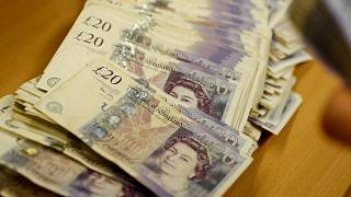 Sterling hits two-week peak on smooth Brexit hopes; Asian shares seen jittery
