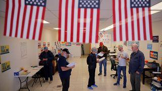 Jour de vote aux Etats-Unis