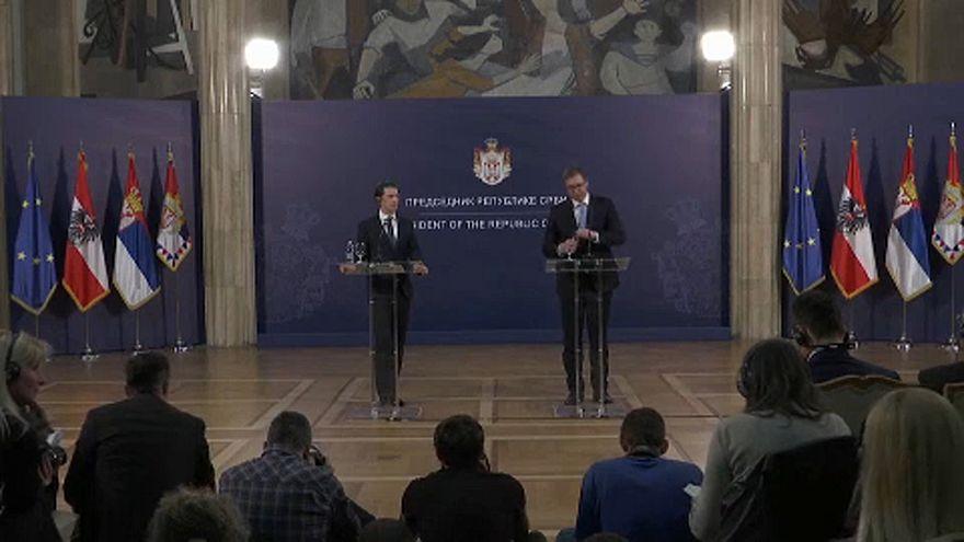 Kurz: Szerbiának az EU-ban a helye