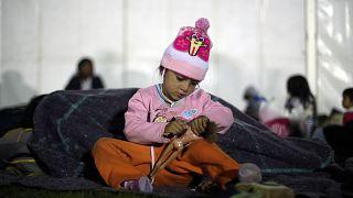 Caravana de imigrantes chega à Cidade do México