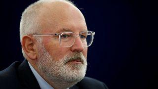 Timmermans é o candidato principal  do Partido Socialista Europeu