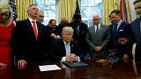 Trump, Beyaz Saray'da evanjelist liderlerle