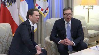 Австрия поддержит договор Белграда и Приштины