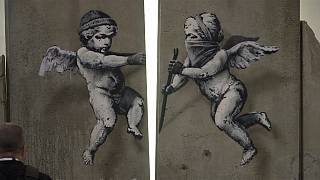 Banksy porta il muro di Betlemme a Londra