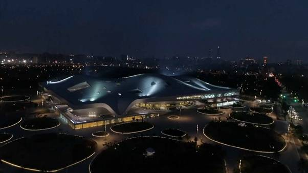 The National Kaohsiung Centre for the Arts' roof covers 3.3 hectares