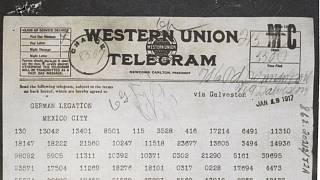 El telegrama de Zimmermann provocó la entrada de EEUU a la Gran Guerra