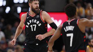 NBA: Victoria de los Raptors ante los Utah Jazz, 111-124