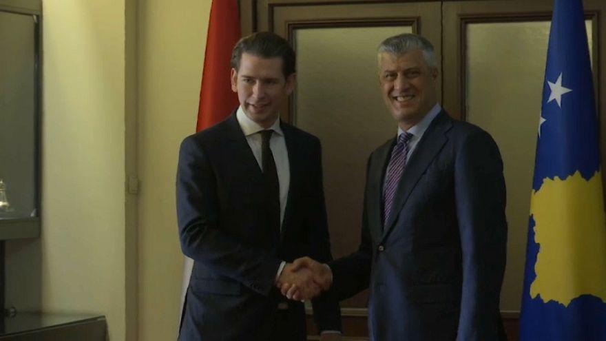 Kosovo: Kurz drängt auf Dialog mit Serbien