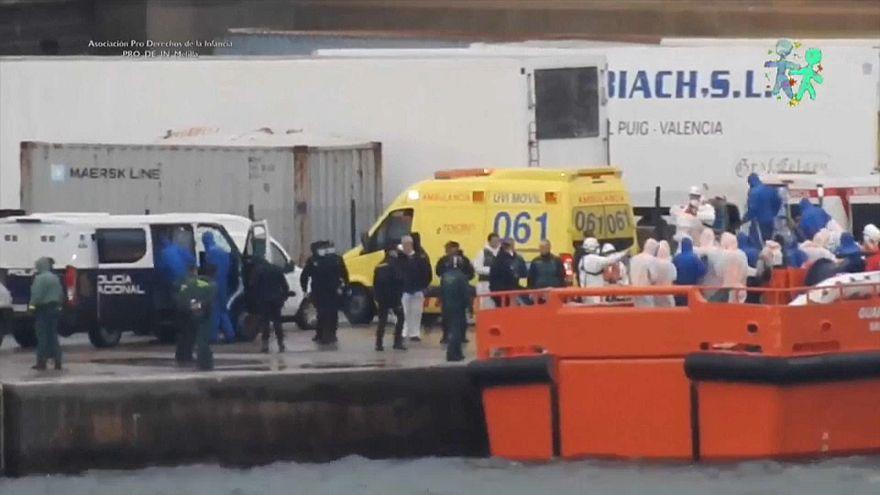 Trágico naufragio en el estrecho de Gibraltar